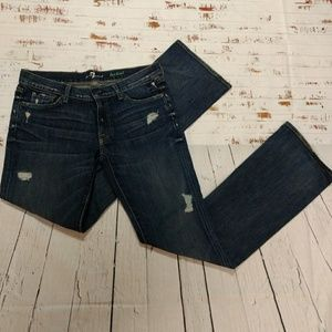 7 for all mankind boot cut jeans (209)